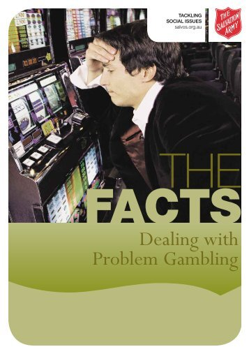 Dealing with Problem Gambling - The Salvation Army