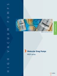 Alcatel MDP Series Pumps Brochure - LACO Technologies, Inc.