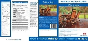 Build a deck Build a deck
