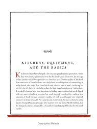 My Bombay Kitchen - Sample Chapter - University of California Press