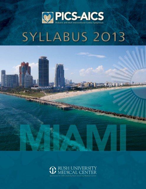 pics~aics 2013 syllabus