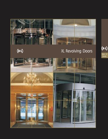 XL Revolving Doors - cj rush industries