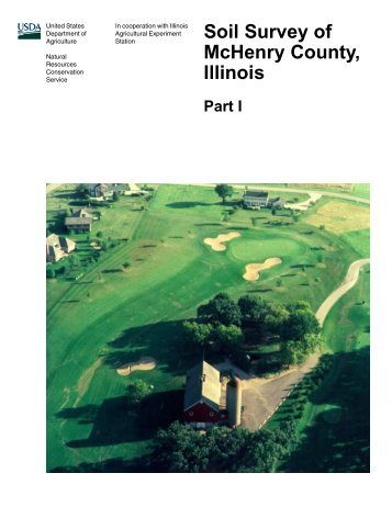 Soil Survey of McHenry County, Illinois Part I - Soil Data Mart