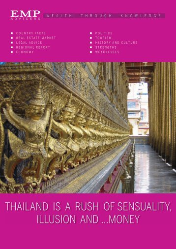 THAILAND IS A RUSH OF SENSUALITY, ILLUSION ... - EMP advisers