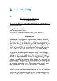 Satzungen des Abwasserverbandes der Region Lenzburg