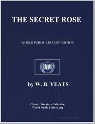 THE SECRET ROSE - World eBook Library - World Public Library