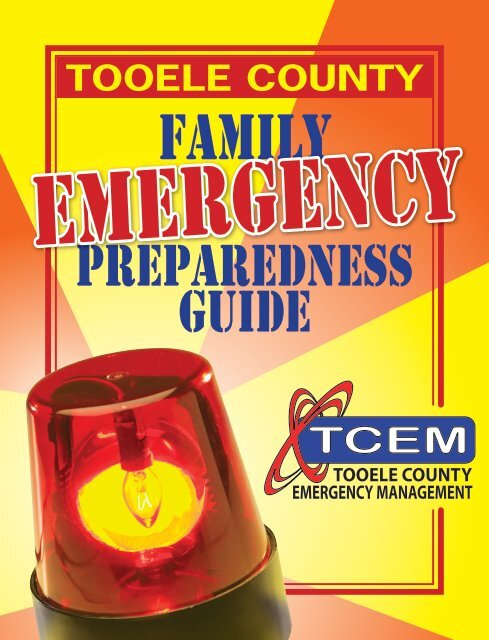 to download your own copy - Tooele County Emergency Management
