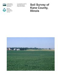 Soil Survey of Kane County, Illinois - Soil Data Mart