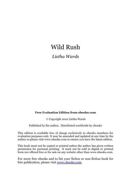 Wild Rush Lietha Wards Fr