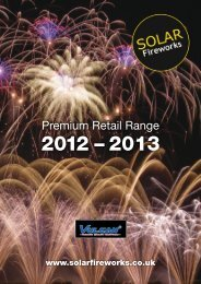 Download Catalogue - Solar Fireworks