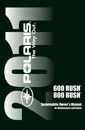 600 RUSH 800 RUSH - Polaris