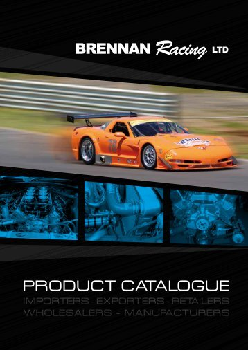 PRODUCT CATALOGUE - Brennan Racing