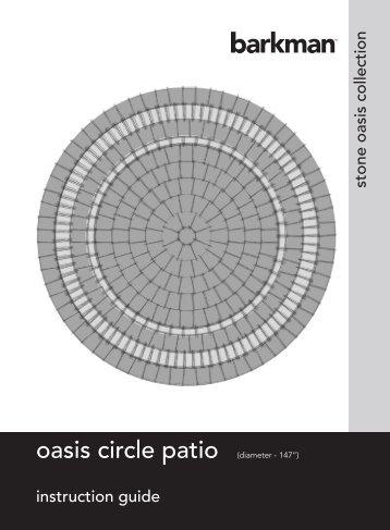 oasis circle patio - barkman hardscapes