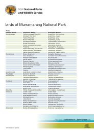 Birds of Murramarang National Park 124 KB PDF