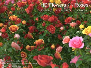 HD Flowers 1 - Roses - HQ plants