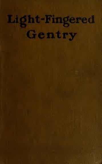 Light-fingered gentry;