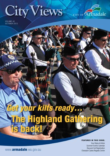 The Highland Gathering is back! - City of Armadale