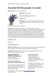 Essential Oil Monograph- Lavender - Moon Haven