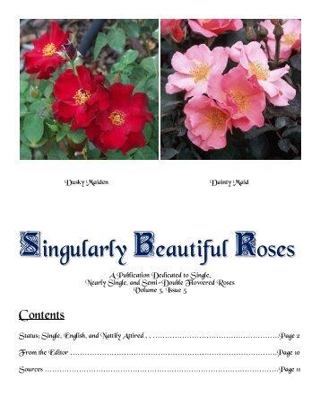 Volume 6 in PDF Format - Paul Zimmerman Roses
