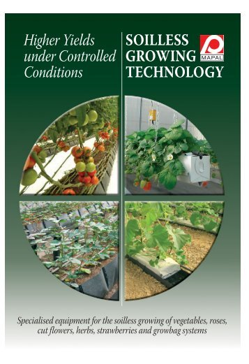 Substrate for soilless cultivation in agriculture for Soil less farming