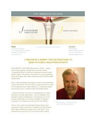 j vineyards & winery taps george rose to head its public relations ...