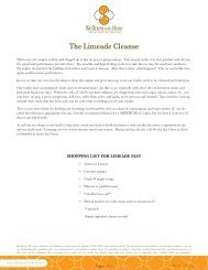 The Limeade Cleanse - Wellness With Rose