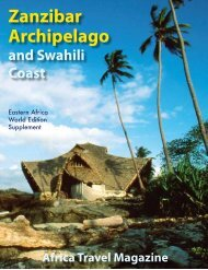 Zanzibar Archipelago - air highways - magazine of open skies, world ...
