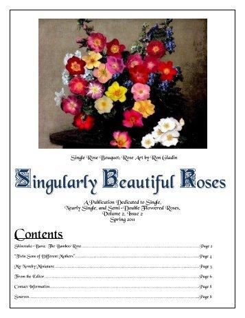 Volume 3 in PDF Format - Paul Zimmerman Roses