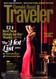 2011 Top New Hotels - David W. Deague