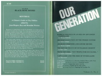 BLACK ROSE BOOKS