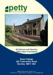Rose Cottage 226 Todmorden Road Burnley BB11 3EZ