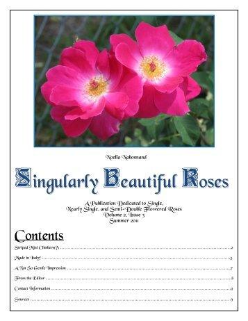 Volume 4 in PDF Format - Paul Zimmerman Roses