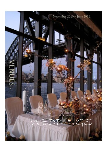 Download information on centrepieces - Dockside Group Weddings
