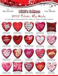 Tel: (800) 467-0392 - Nikki's Balloons