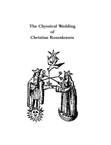 chymical wedding of christian rosenkreutz pdf
