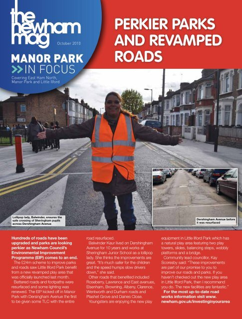 In Focus Issue 208 - Manor Park - Newham