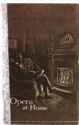 His Master's Voice Opera at Home Catalogue 1920 - British Library ...