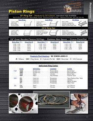 Piston Rings - Wiseco