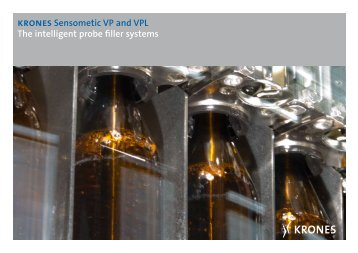 krones Sensometic VP and VPL The intelligent probe ... - Krones AG