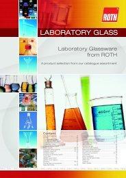 LABORATORY GLASS - Carl Roth