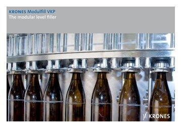 krones Modulfill VKP The modular level filler - Krones AG