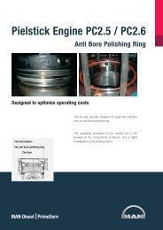 Anti Bore Polishing Ring Pielstick Engine PC2.5 / PC2.6