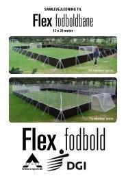 Flexfodboldbane - samlevejledning.pdf - A-Sport