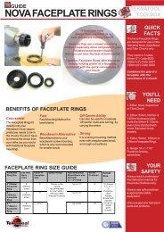 Faceplate Rings - Teknatool