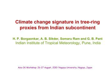 Tree ring dating and climate change, labnan fuck