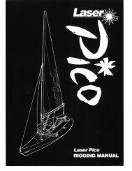 Laser Pico Rigging Manual - Sailboats.co.uk
