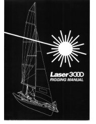 Laser 3000 Rigging Manual - Sailboats.co.uk