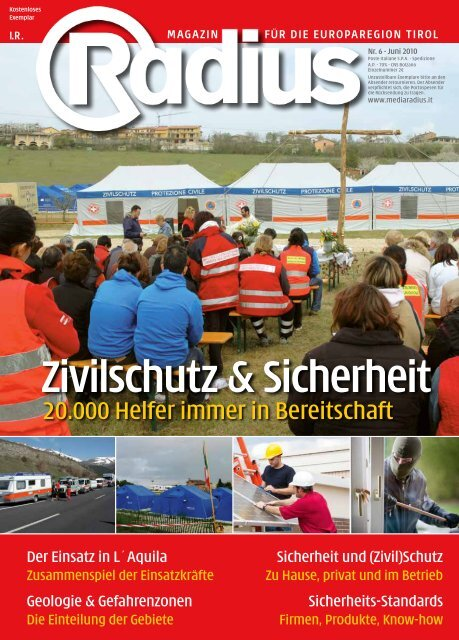 Radius - ZIVILSCHUTZ