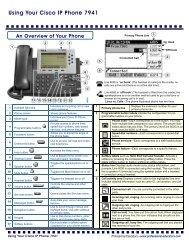 Cisco - Resetting 7900 Series IP Phones if password is set