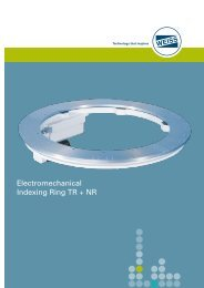 Electromechanical Indexing Ring TR + NR - Precision Bearing House